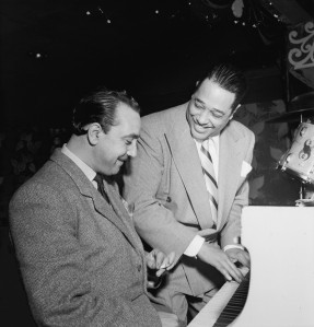 Django_Reinhardt_and_Duke_Ellington_(Gottlieb)_1946