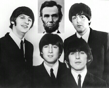 Meets The Beatles. Abe meets The Beatles