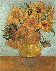 Still-Life--Vase-with-Twelve-Sunflowers