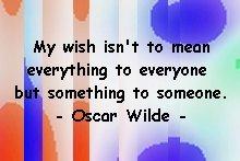 wilde_mywish