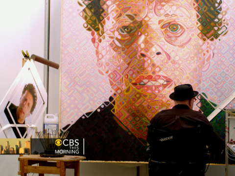 Chuck Close – b-ray bloggin'