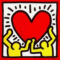 Keith Haring -heart