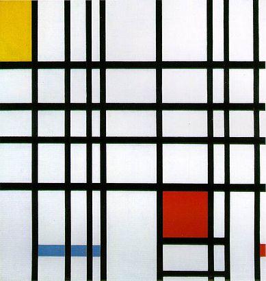 Mondrian_CompIIRYB_1930