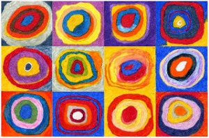 Kandinsky Circles Post
