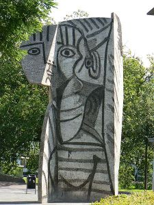 Pablo Picasso in Rotterdam_The Netherlands