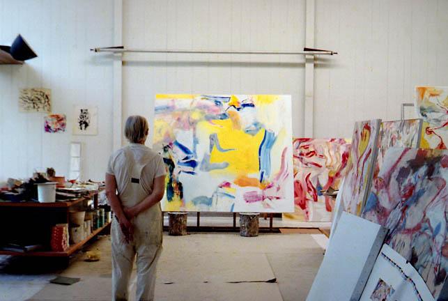 de-kooning-at-his-studio