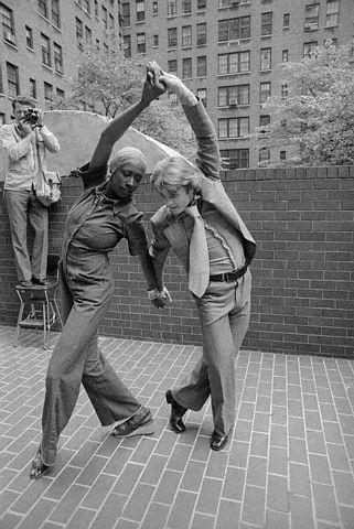 Mikhail Baryshnikov and Judith Jamison Dancing