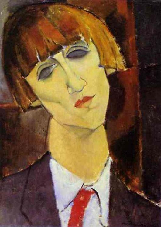 Madame_Kisling_c1917_Amedeo_Modigliani