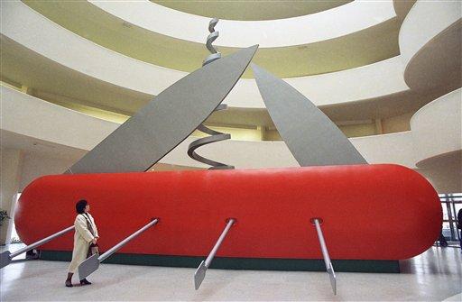 Claes Oldenburg Born In Stockholm Sweden On Jan 28 1929