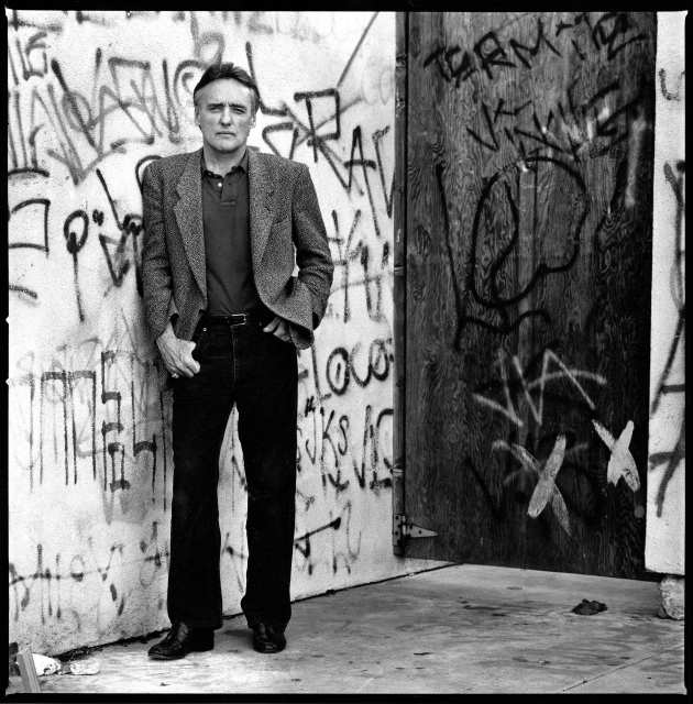 "LOS ANGELES - MAR. 3, 1988: Dennis Hopper, director of the new movie about Los Angeles gangs, ""Colors."""