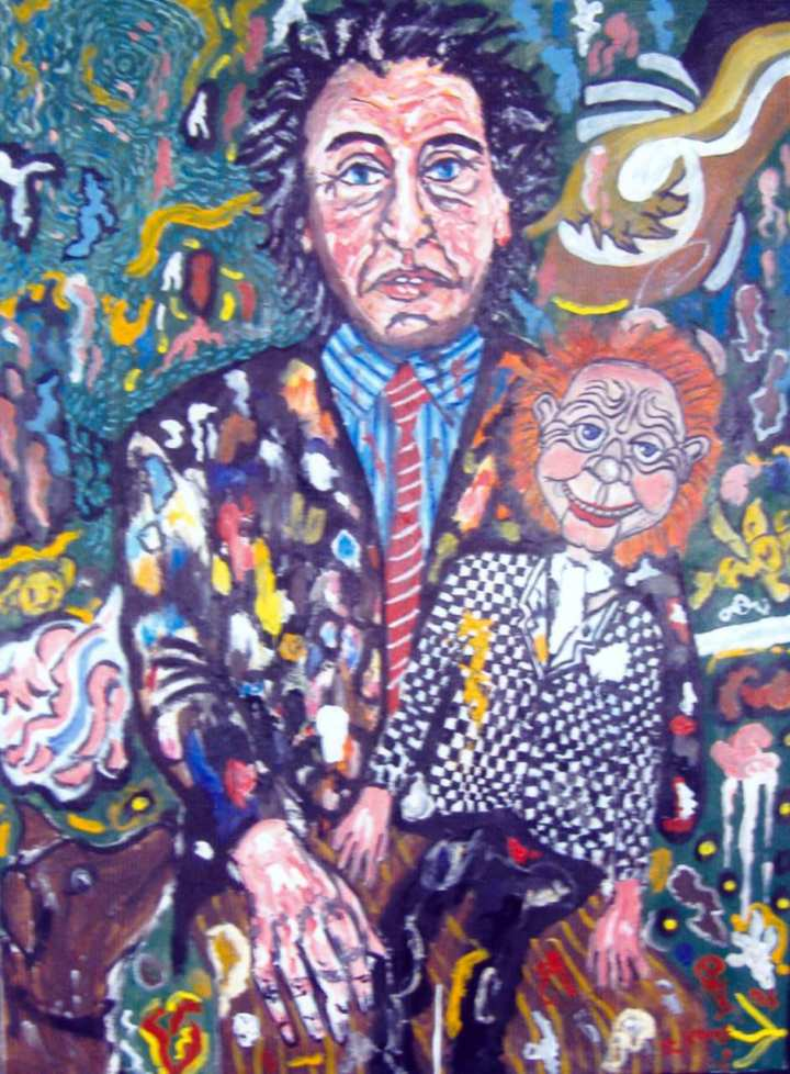 max beckmann paintings - Mr Parlanchin and the jealous dog