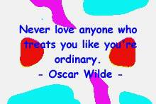 wilde about love