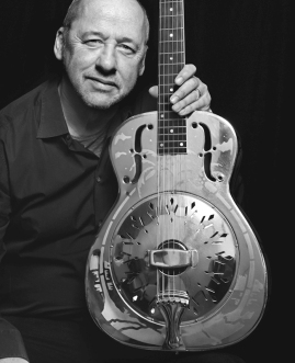 Resonators by Scarlet Page in aid of Teenage Cancer Trust London, Mark Knopfler